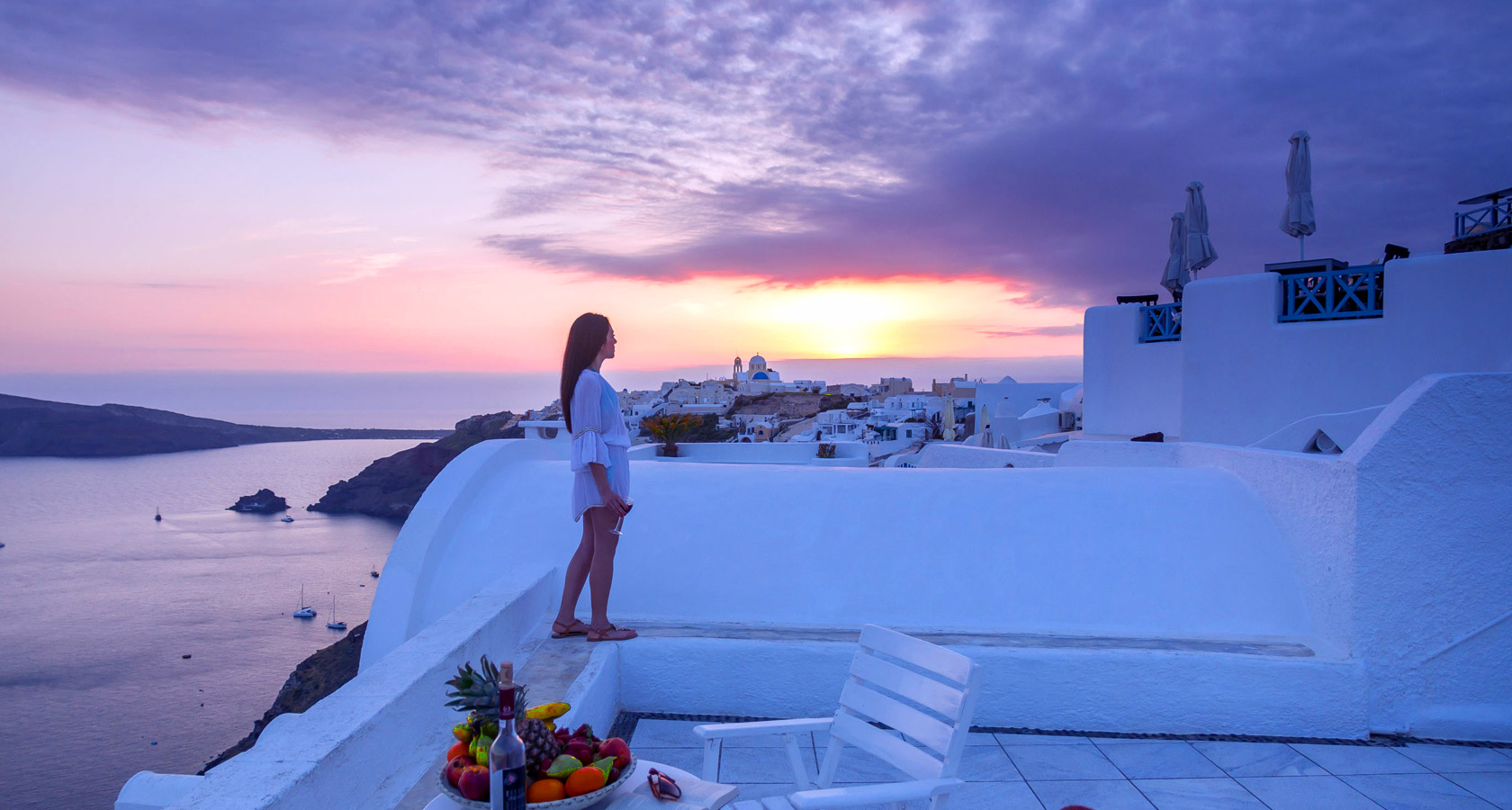Thirea Studios Oia Santorini – Sunset